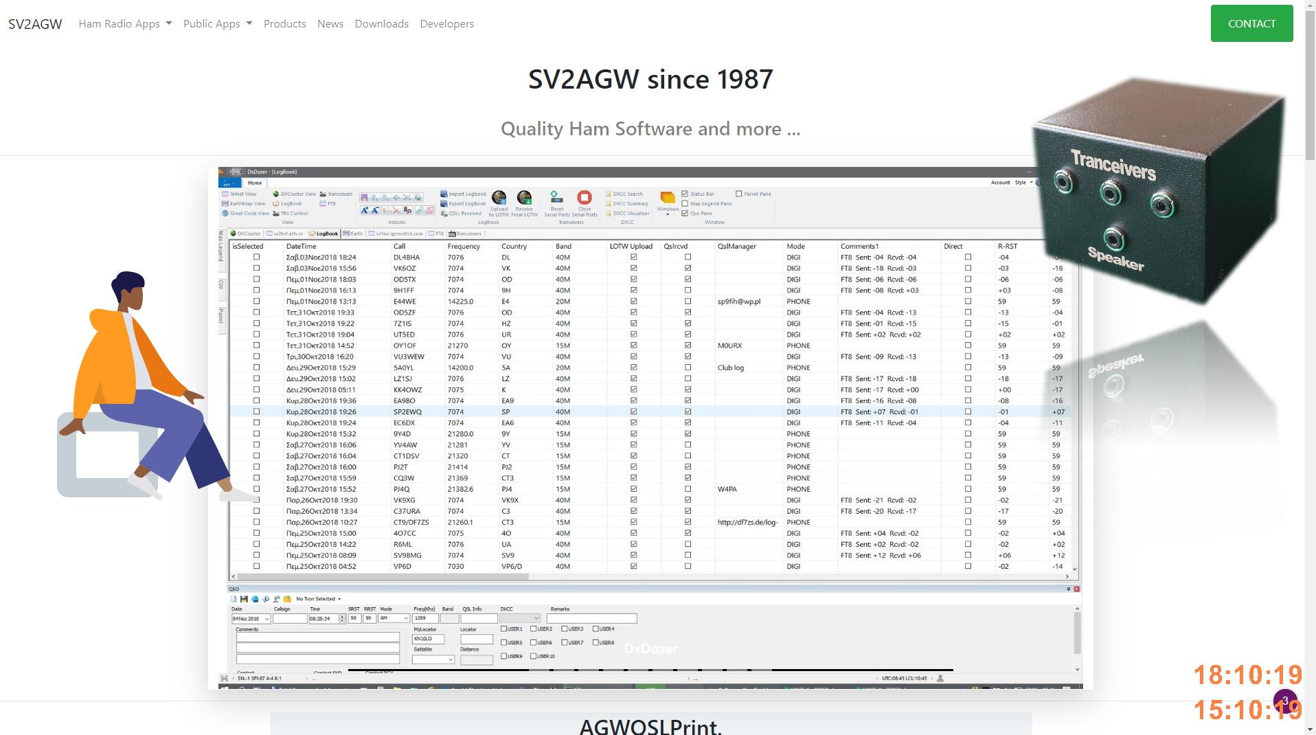 SV2AGW Downloads